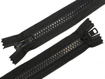 Reißverschluss nicht teilbar 74 cm - schwarz