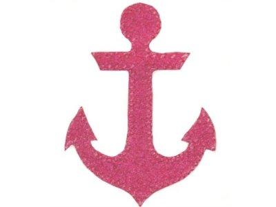 Glitzeranker pink zum Aufbügeln