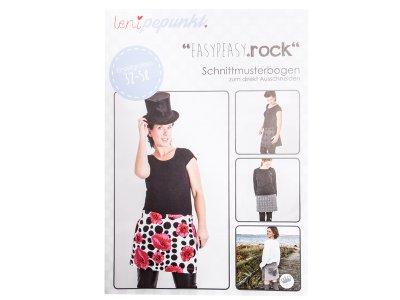 "Papier-Schnittmuster Lenipepunkt - Rock ""Easypeasyrock"" - Damen"