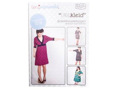"Papier-Schnittmuster Lenipepunkt - Kleid ""Lindokleid"" - Damen"