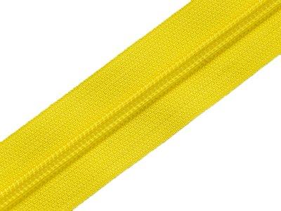 Endlosreißverschluss 5mm - gelb
