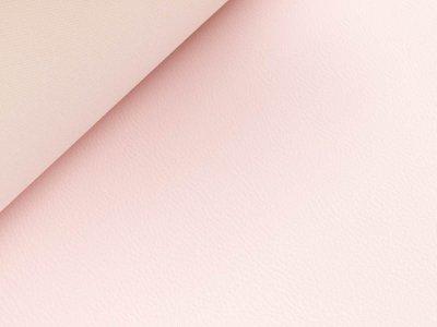 Struktur Kunstleder - pastellrosa