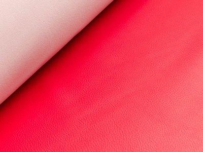 Struktur Kunstleder - rot