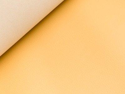 Struktur Kunstleder - ockergelb
