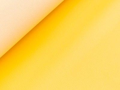 Struktur Kunstleder - gelb