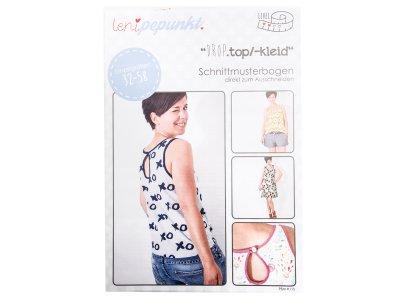 """Papier-Schnittmuster Lenipepunkt - Kleid/Top """"Droptop"""" - Damen"""