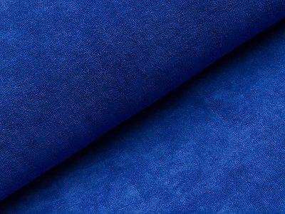 Elastischer Frottee - uni dunkles blau