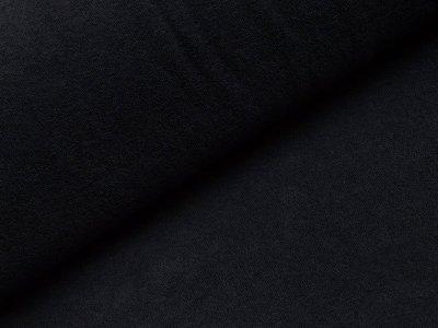 Elastischer Frottee - uni nachtblau