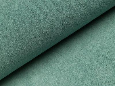 Elastischer Frottee - uni altgrün