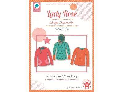 Schnittmuster Lady Rose lässiges Damenshirt