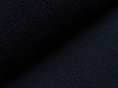 Bouclé Mantelstoff - nachtblau