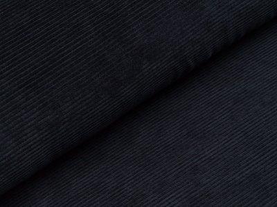Nicki in Feincord-Optik - uni nachtblau