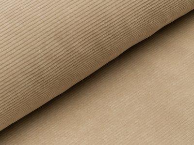 Nicki in Feincord-Optik - uni beige
