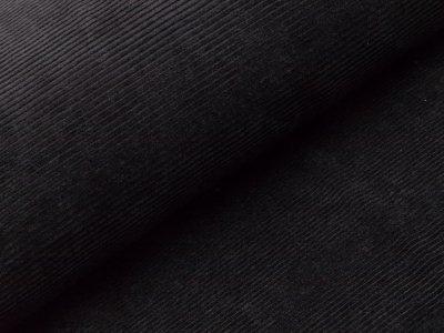 Nicki in Feincord-Optik - uni schwarz