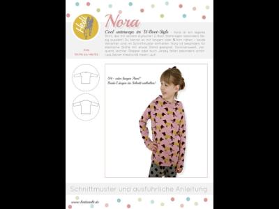 Papierschnittmuster Hedi - Sweater Nora - Mädchen