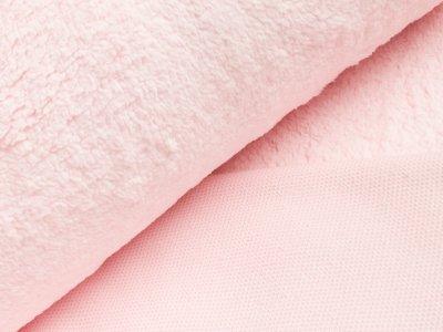 Teddy-Plüsch - uni rosa