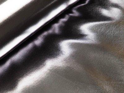 Lacklederimitat - silber