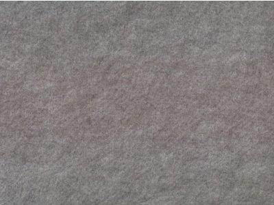 Filz 45cm breit grau meliert