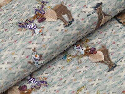 Disney-Jersey Frozen - Olaf und Sven - grau