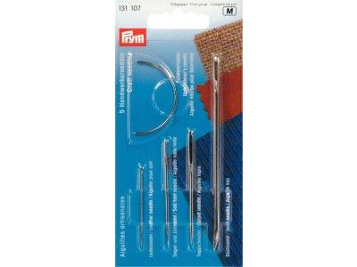 Prym 5 Handwerkernadel-Sortiment klein ST - silberfarben