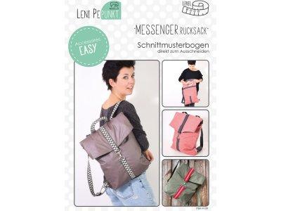 Papier-Schnittmuster Lenipepunkt Messenger.Rucksack - Rucksack
