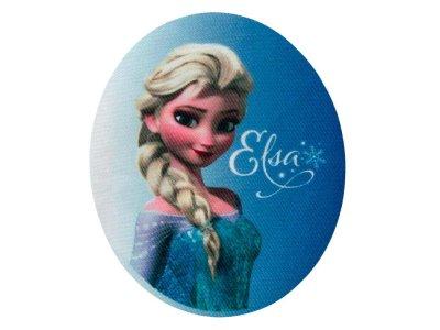 Applikation zum Aufbügeln 2 Stück Disney-Frozen - Elsa - denimblau