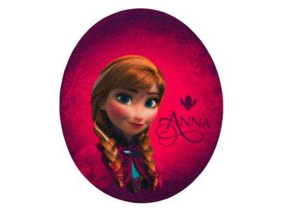 Applikation zum Aufbügeln 2 Stück Disney-Frozen - Anna - bordeaux