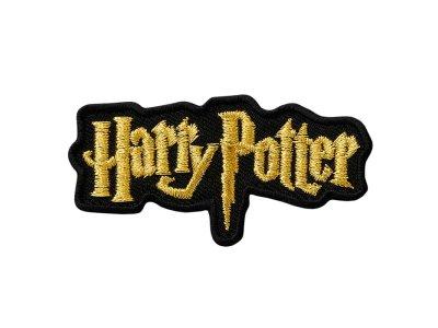 Applikation zum Aufbügeln Harry Potter - Harry Potter-Logo - goldfarbig