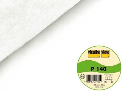 Volumenvlies P140 Vlieseline flammhemmend zum Einnähen 150 cm weiß
