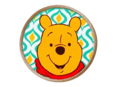 Applikation zum Aufbügeln Disney-Winnie the Pooh - schmunzelnder Winnie - weiß