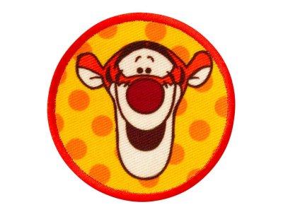 Applikation zum Aufbügeln Disney-Winnie the Pooh - fröhlicher Tigger - orange