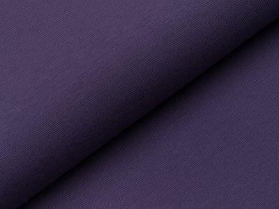 Jersey uni - dunkles lila