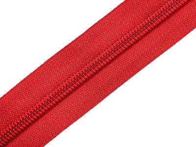 Endlosreißverschluss 5mm - rot