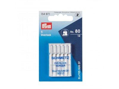 Schmetz Overlock Nadeln 5 Stk./Standard 80 Prym