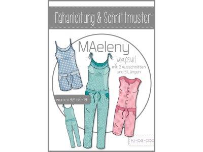 Papierschnittmuster ki-ba-doo MAeleny Jumpsuit Damen