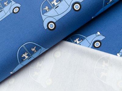 Sommer Sweat - Autos - blau