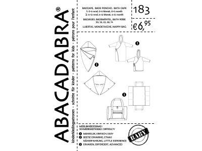 Abacadabra Baby 183 Badeponcho & Wendetasche