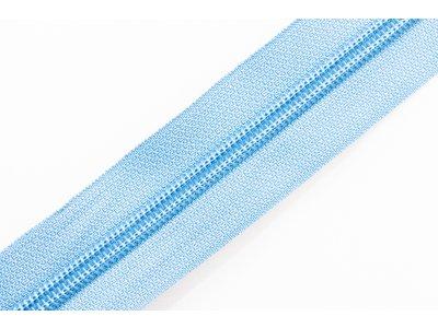 Endlosreißverschluss 5mm - helles blau