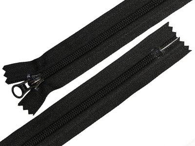 Reißverschluss nicht teilbar 28 cm - schwarz