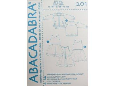 Abacadabra Schnittmuster-Set Jacke und Kleid - Mädchen