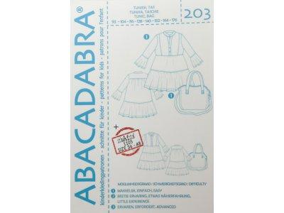Abacadabra Schnittmuster-Set Tunika und Tasche - Mädchen