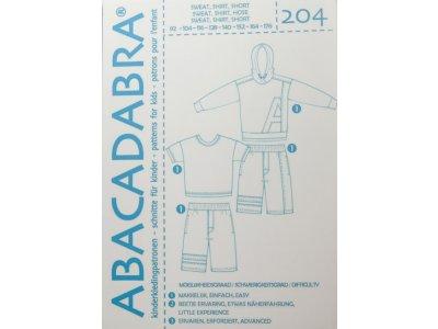 Abacadabra Schnittmuster-Set Pullover,Shirt und Hose - Jungs