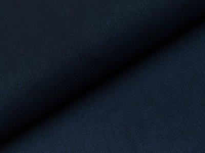 Aufgerauter Twill - nachtblau
