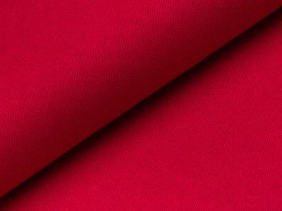 Aufgerauter Twill - rot