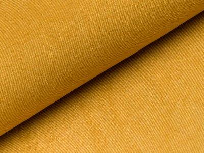 Aufgerauter Twill - gelb