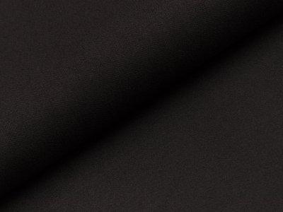 Aufgerauter Twill - schwarz