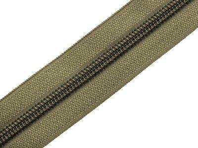Endlosreißverschluss 5mm - olive