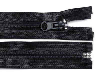 Reißverschluss teilbar - Länge 60 cm -  wasserfest schwarz