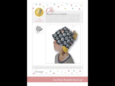 Papierschnittmuster Hedi - Mütze Ole - Kinder