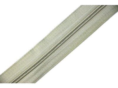 Endlosreißverschluss 3mm - graugrün